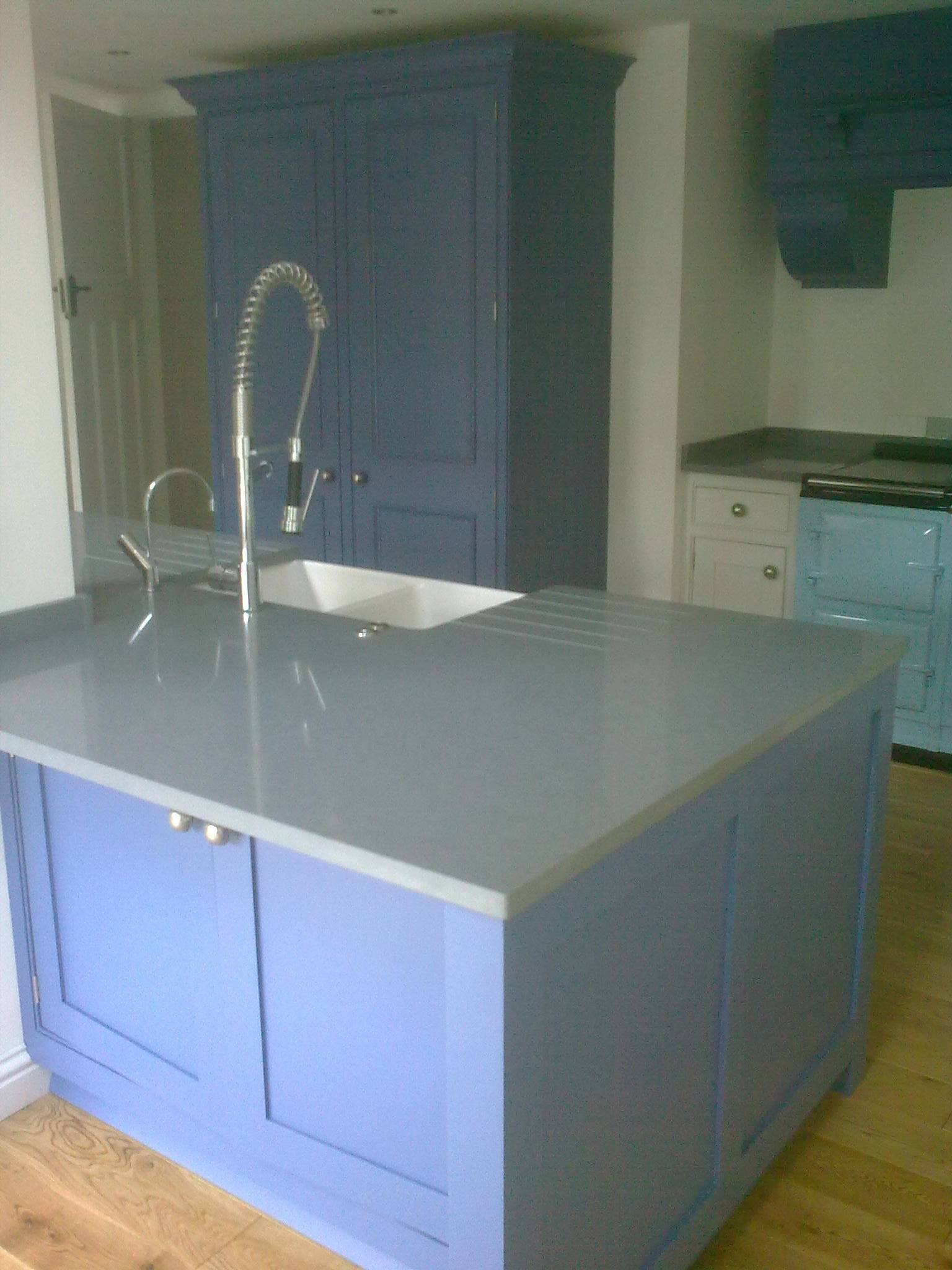 hand-painted kitchen Farrow & Ball