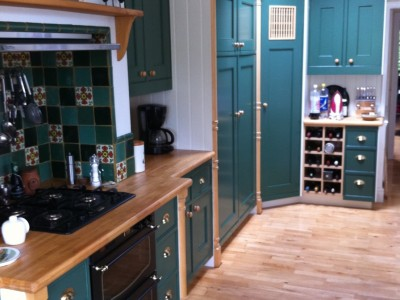 sample idea of painted kitchens