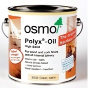 Osmo Polyx oil for flooring and internal joinery