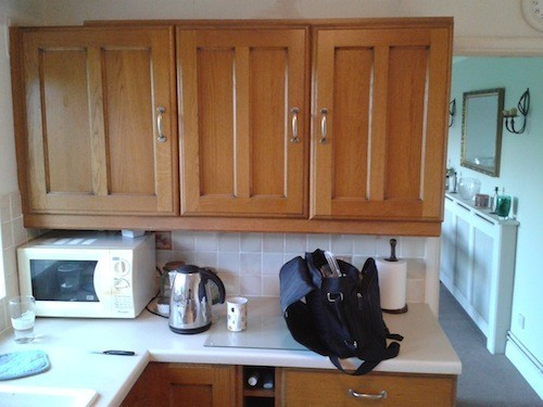 oak kitchen Staffordshire