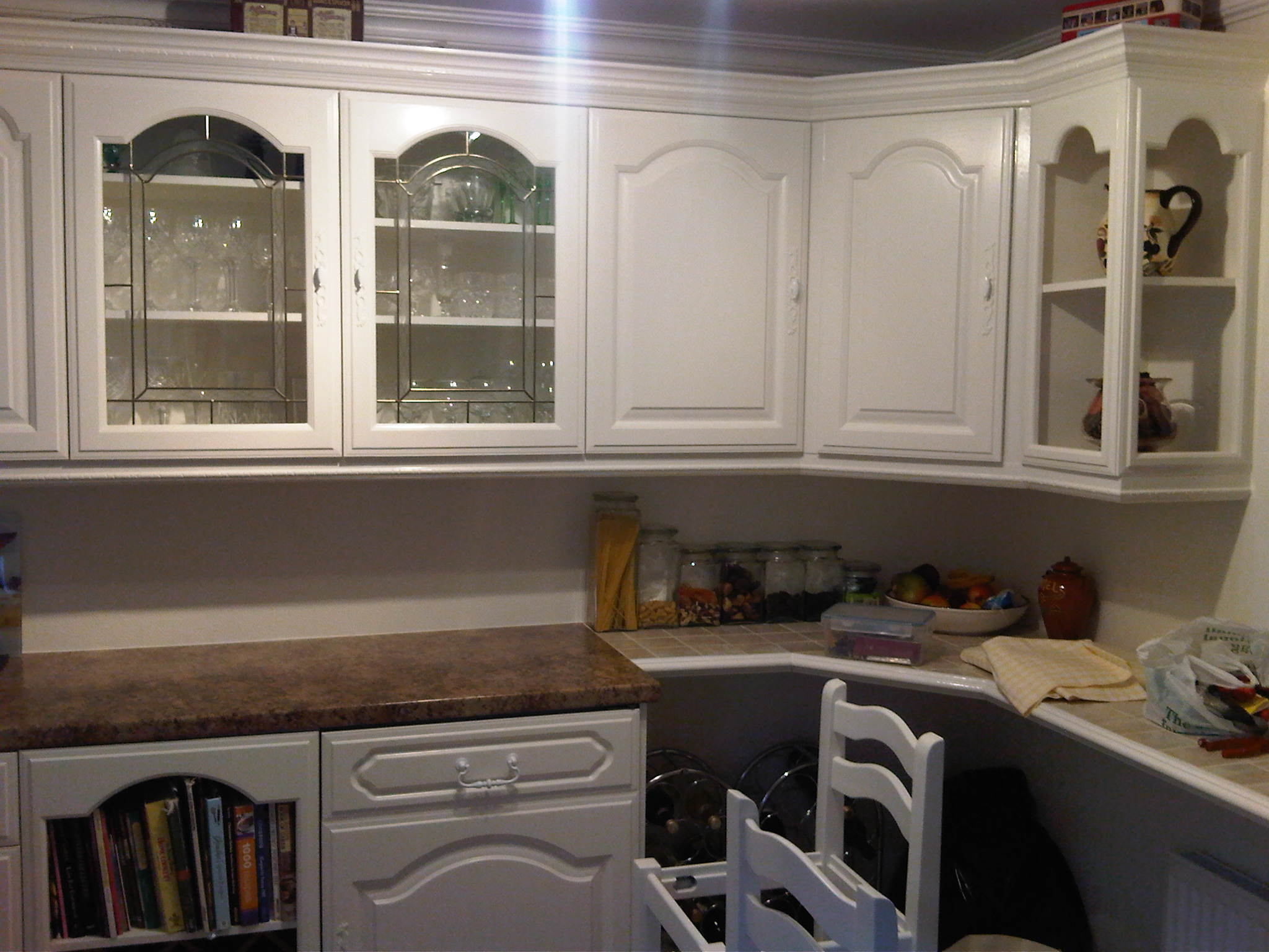 Mythic semi gloss kitchen