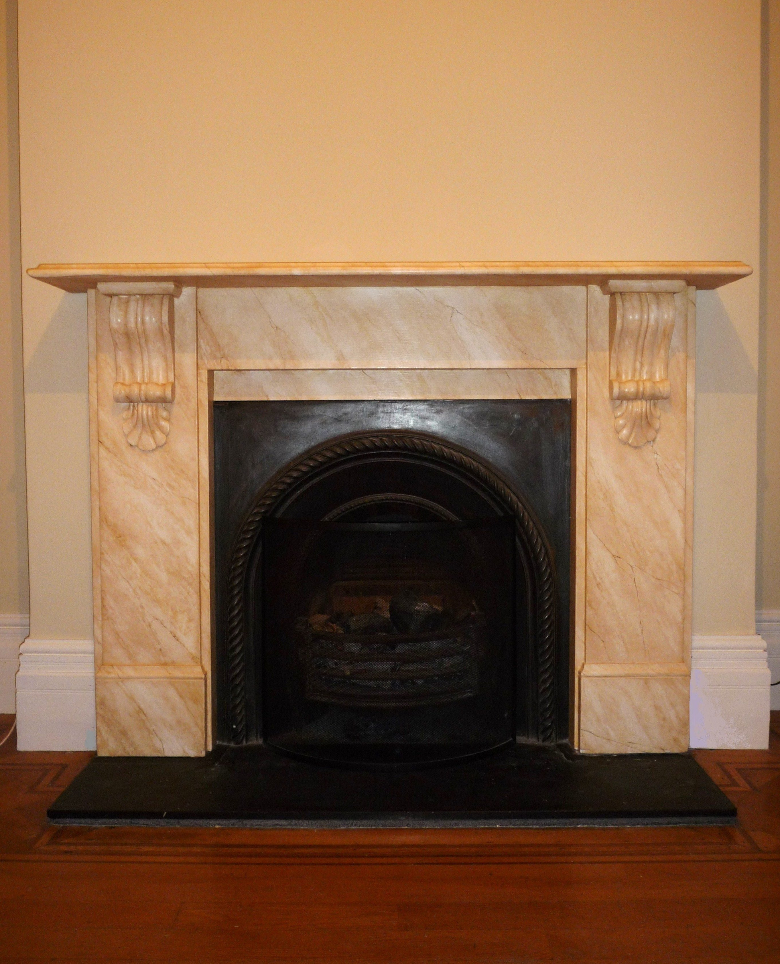 Faux Marble Hand Painted Fireplaces Yorkshire