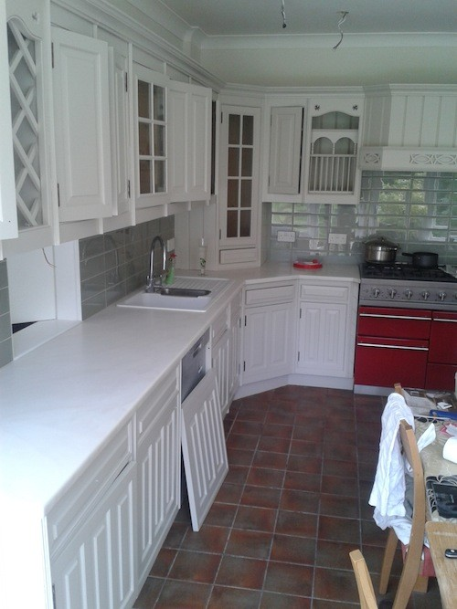 Sanderson painted kitchen Lichfield