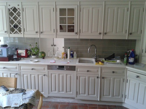 lichfield hand painted kitchen