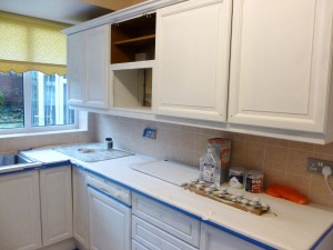 The prepped and primed kitchen