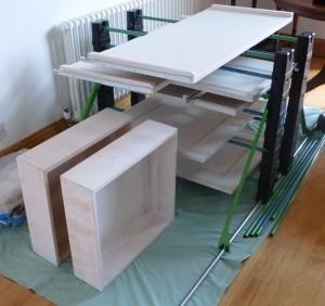 Erecta rack stacking system