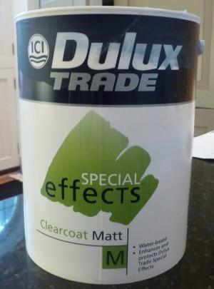 Dulux Clearcoat Matt Varnish