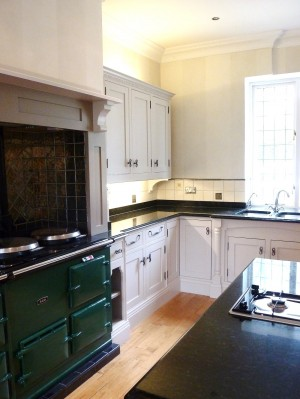 The finished kitchen