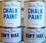 annie sloan chalk paint and wax