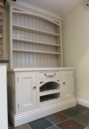 The finished dresser