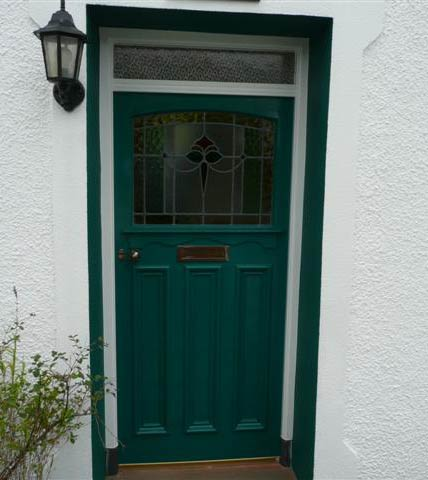 Exterior weathershield gloss on front-door & How to gloss a front door   Traditional Painter