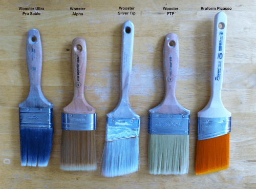 American paint brushes