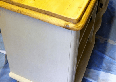 how to apply annie sloan clear wax traditional painter