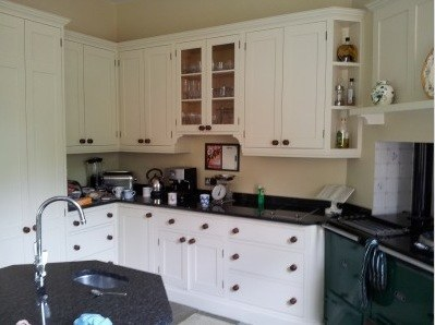 Little Greene oil eggshell kitchen Mark West Brighton