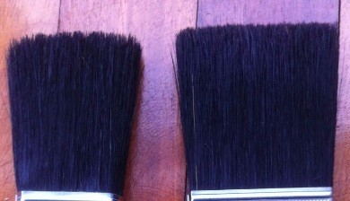 hamilton Perfection and Corona Morro pure china bristle brush