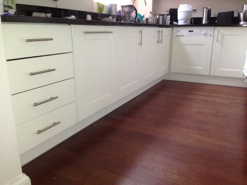 oak kitchen camden painted Tikkurila