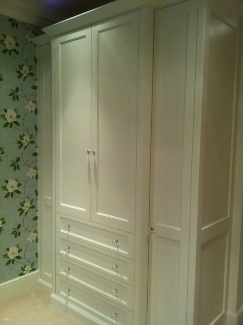 wardrobe painted