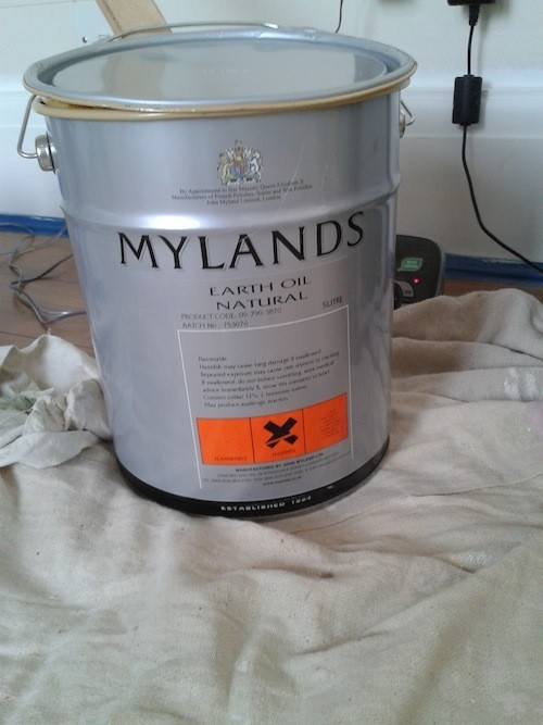 mylands natural earth oil