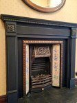 hearth painted and gold waxed