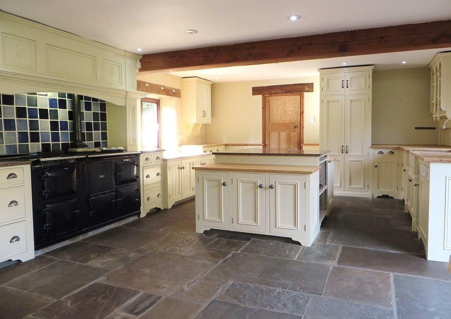 Hand Painted Pine Kitchen Pontefract