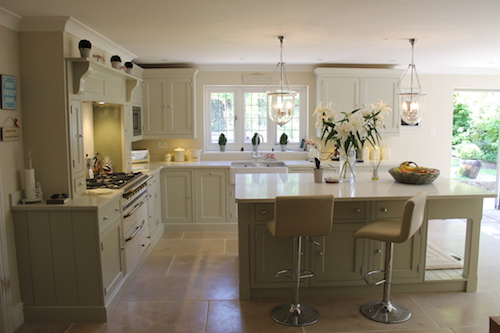 hand painted kitchen Kent