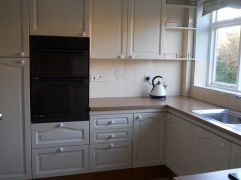 painted kitchen Bramhall