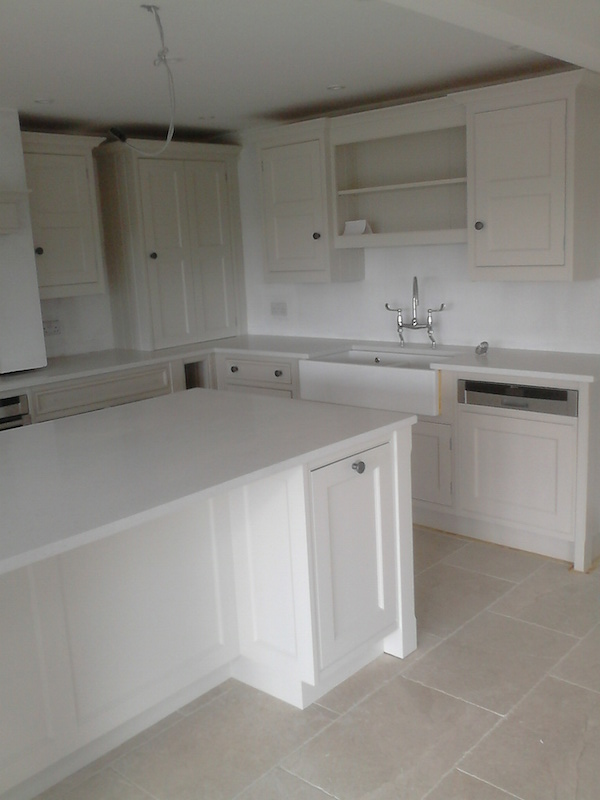 hand painted kitchen Cheshire