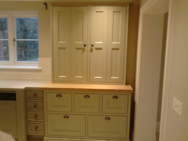 painted kitchen Wirral