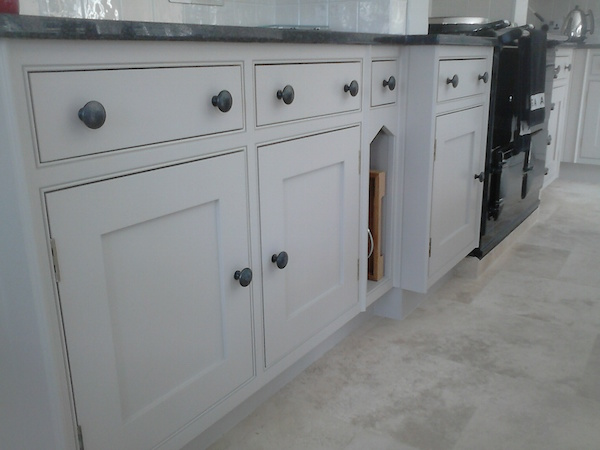 hand painted kitchen Chester