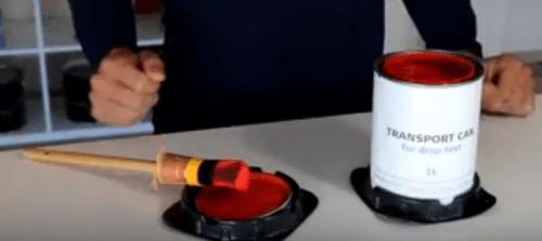 trays as coaster or driptray