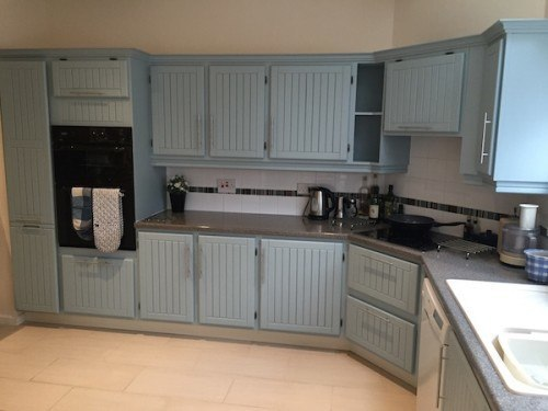 Acton Suffolk painted oak kitchen