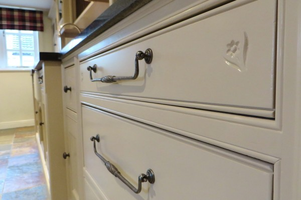 painted drawer front