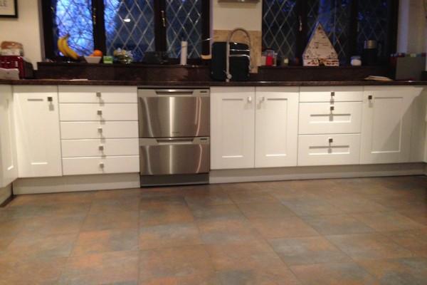 2 Kitchen painted Surrey
