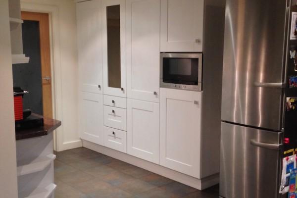 6 Kitchen painted Surrey