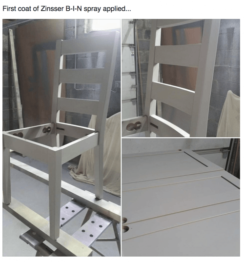 priming chairs and doors