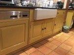 hand painted kitchen Flintshire