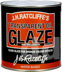 Ratcliffes Water Based Oil Glaze for Specialist Paint Effects and Faux Finishes
