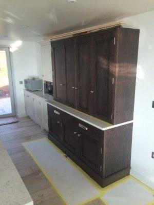 Devon mahogany stain cupboard