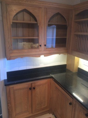 painted yew kitchen Devon