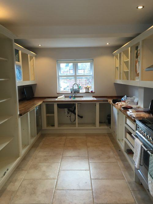 spray paint kitchen in Cheadle