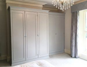 The new look, hand painted wardrobes