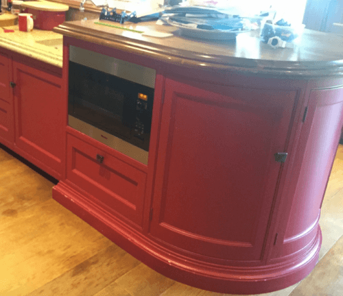 hand painted kitchen Suffolk