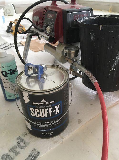 airless spray Scuff-X