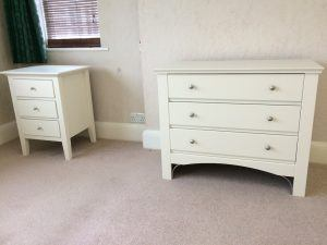 painted bedroom furniture Mark Roberts