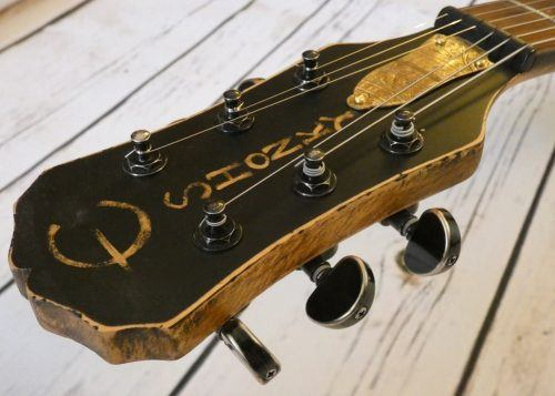 custom sg headstock by Shonky Instruments