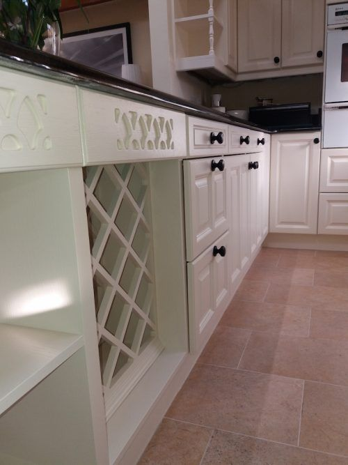 hand painted kitchen in Northampton