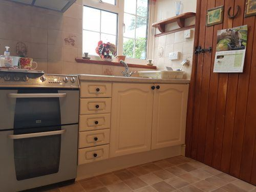 hand painted kitchen Findon