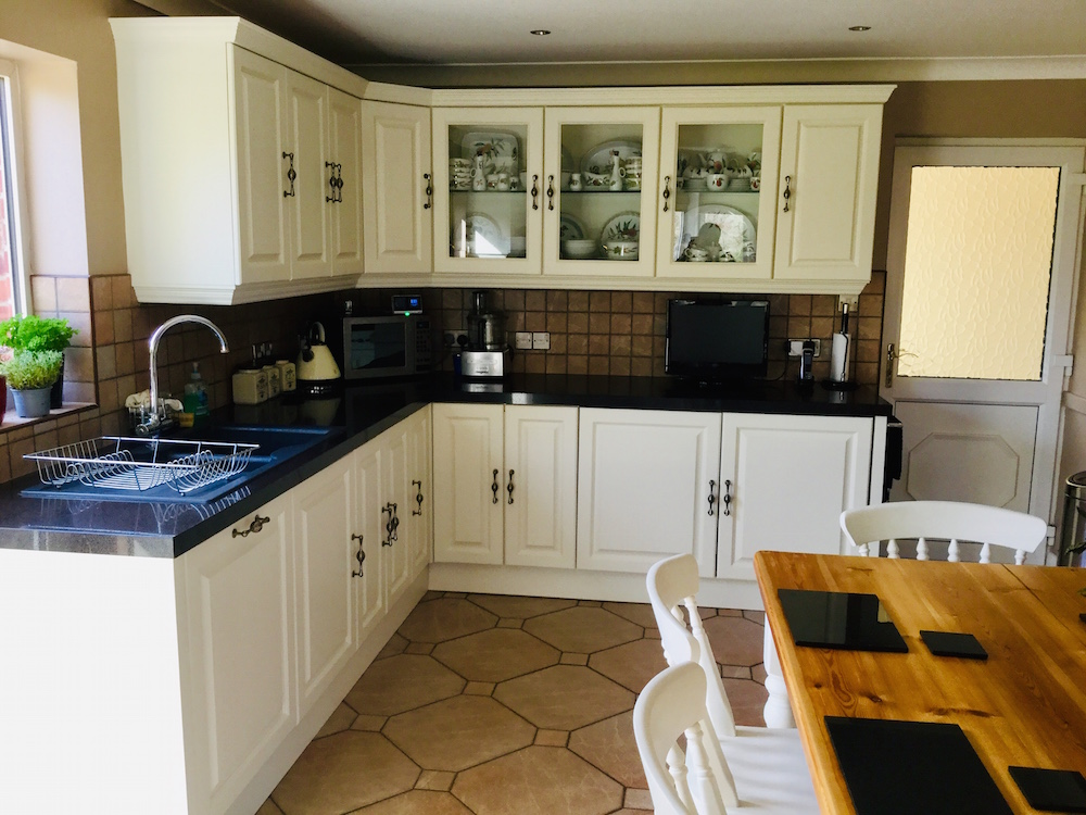 Kitchen renovation near Stoke Holy Cross Watermill