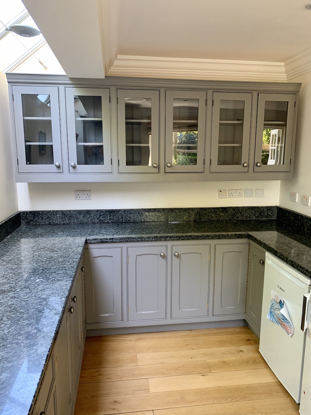 Richard Willott kitchen painter hand painted kitchen Exning