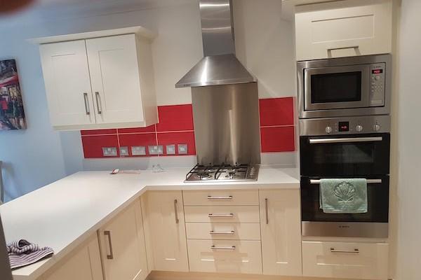 painted kitchen Essex